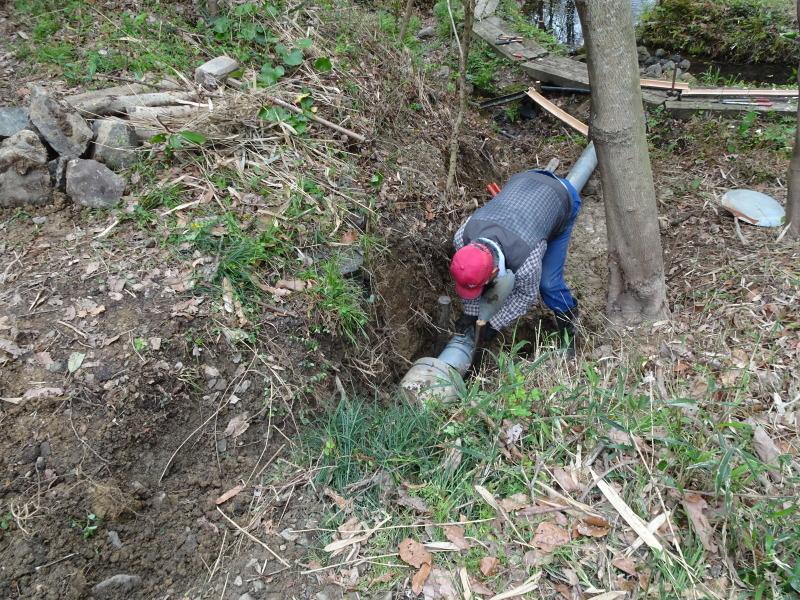 土木工事もできました in うみべの森_c0108460_22281130.jpg