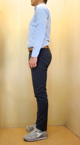 CIT LUXURY(チット・ラグジュアリー)メッシュ織柄サックスブルーシャツ(GPAUL)_c0118375_23212115.jpg