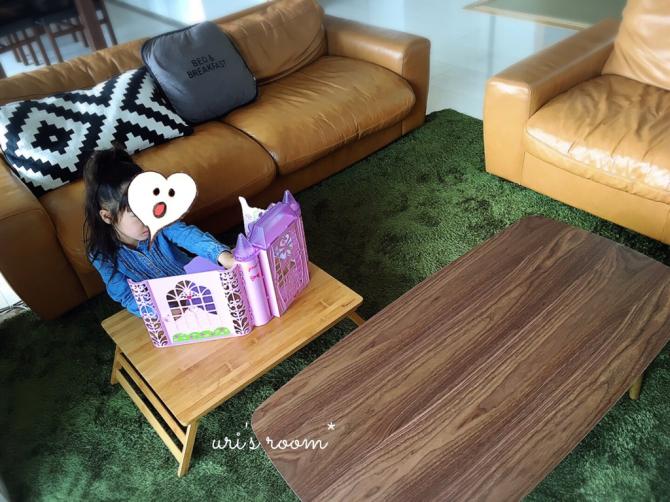 なにかと便利なミニテーブル!と、美味しい新玉ねぎ!_a0341288_17015630.jpg