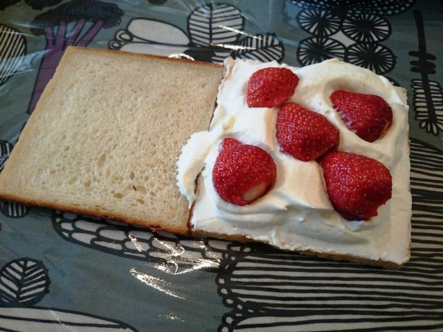 食パンレッスンのお昼ごパン♪_e0167593_0182533.jpg