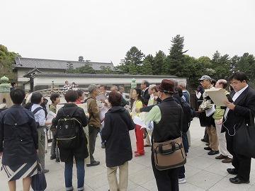 江戸城散歩を開催しました。_c0187004_16571166.jpg