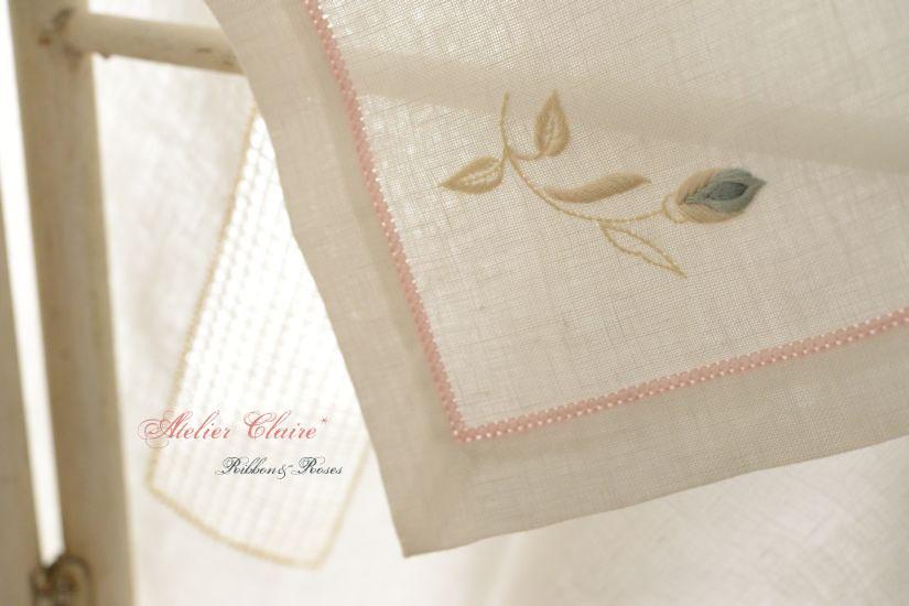 Ribbon&rosesのテーブルクロス~アイロンがけでピンと美しく~_a0157409_08271241.jpg