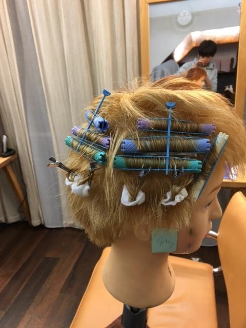 ブリーチ毛へのパーマ実験_d0224931_16562990.jpg