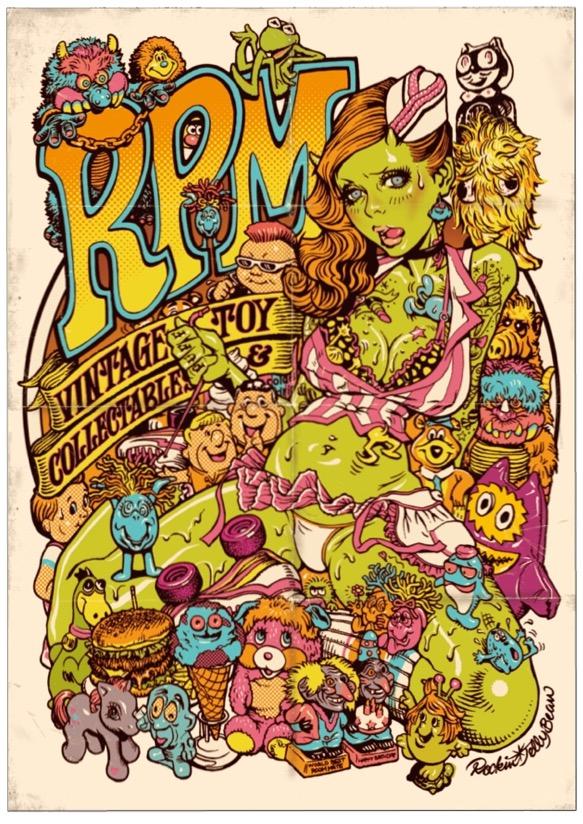 Rockin\'Jelly Bean Artist Figure & Shelterbank ポスター☆_c0084047_5361529.jpg
