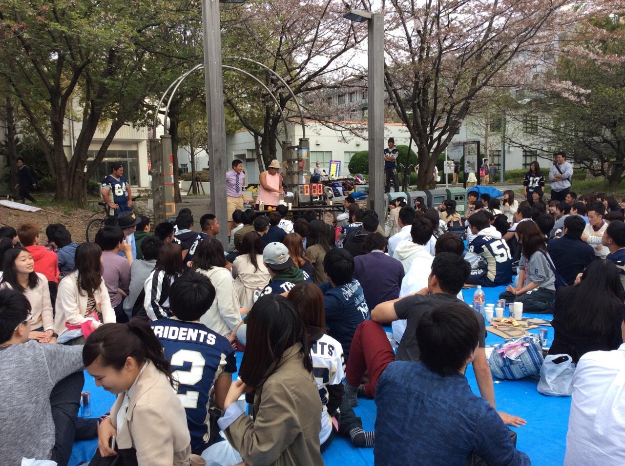 新歓イベント!/ライス大学コーチ派遣_e0137649_1911560.jpg