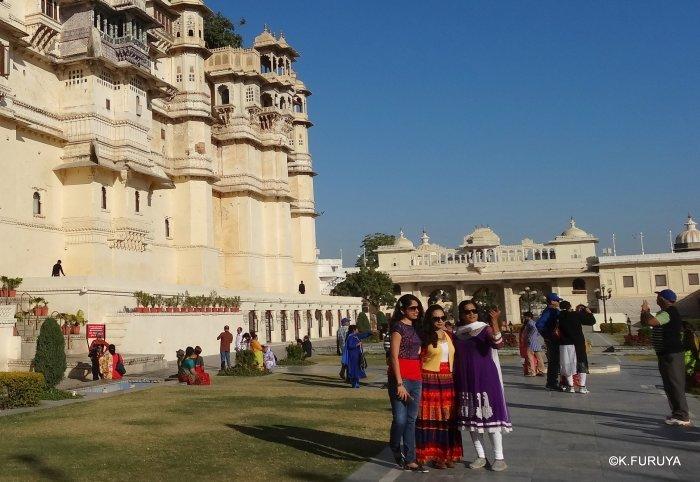 """インド・ラジャスタンの旅 13 ウダイプール """"シティパレス"""" その1_a0092659_18172036.jpg"""