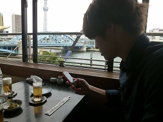ASAKUSAその1 スカイツリー×隅田川×鰻♪_a0165160_14040116.jpg