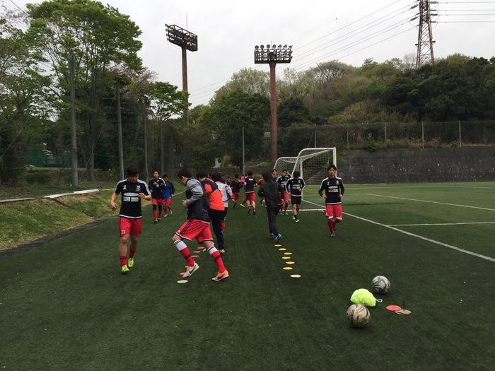 練習試合vs日本体育大学_a0109270_9185887.jpg