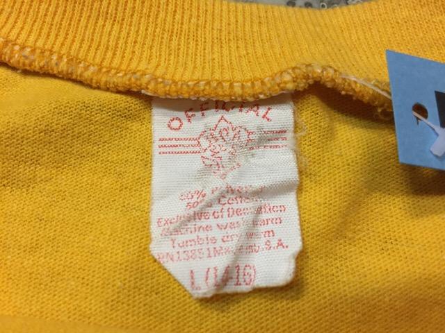 4月13日(水)大阪店ヴィンテージ入荷!#4 VintageT-Shirt編!20\'s~60\'s!!_c0078587_15562842.jpg