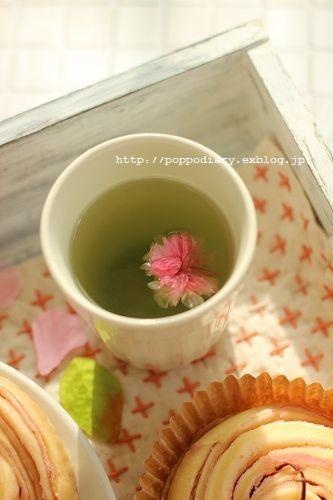 桜餡の折り込みパン_a0134594_09405183.jpg