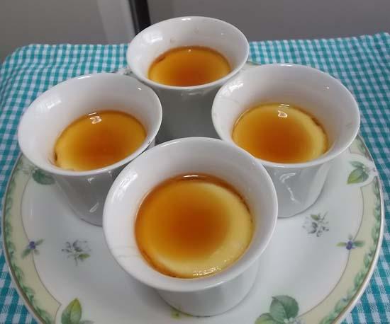鍋で作るプリン&雪菜の塩炒め_f0019498_15533625.jpg