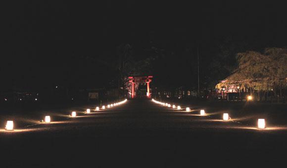 上賀茂神社ライトアップ_e0048413_21223010.jpg