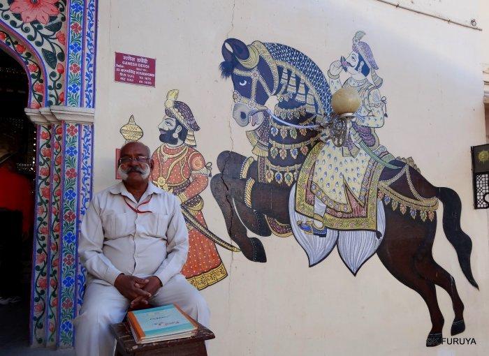 """インド・ラジャスタンの旅 13 ウダイプール """"シティパレス"""" その1_a0092659_20301729.jpg"""