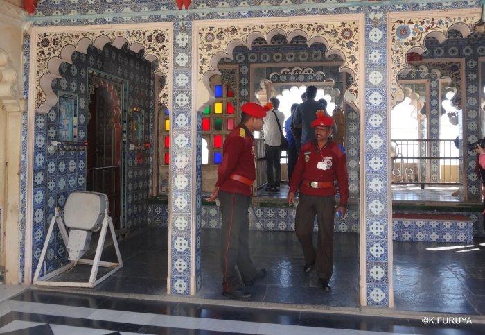 """インド・ラジャスタンの旅 13 ウダイプール """"シティパレス"""" その1_a0092659_22165143.jpg"""