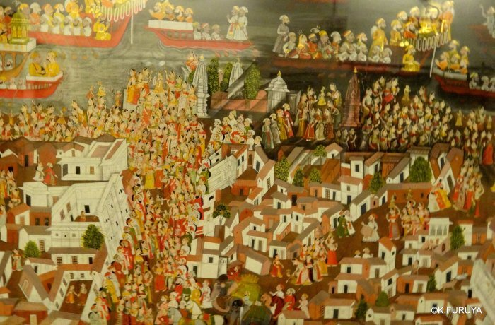 """インド・ラジャスタンの旅 13 ウダイプール """"シティパレス"""" その1_a0092659_22492928.jpg"""