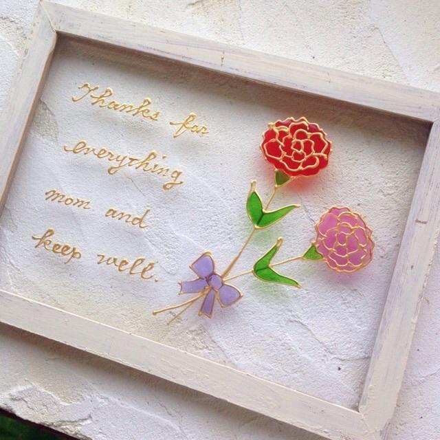 かわいい雑貨好きのお母さんには、季節感のある手づくりクラフトアートをプレゼント