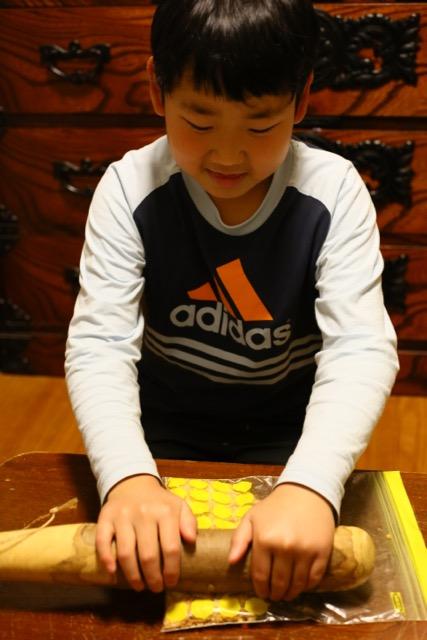 息子10歳のバースディケーキ by Meg_c0008664_10114541.jpg