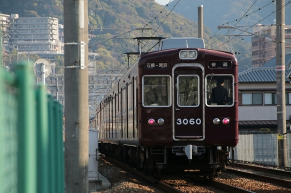 朝の箕面線   阪急3060F_d0202264_15062058.jpg