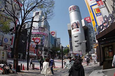 4月12日(火)今日の渋谷109前交差点_b0056983_13304514.jpg