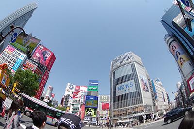 4月12日(火)今日の渋谷109前交差点_b0056983_13305296.jpg