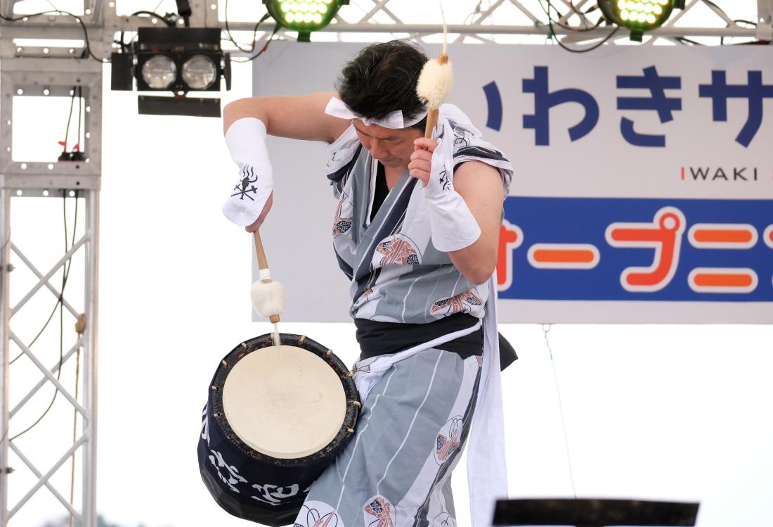 いわきサンシャイン博 <3> じゃんがら念仏踊り 2016・04・10_e0143883_15571315.jpg