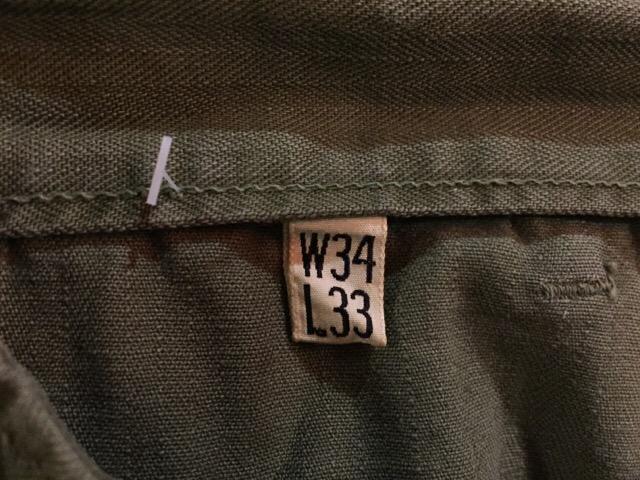 4月13日(水)大阪店ヴィンテージ入荷!#7 U.S.ARMY編!M-43,M-47HBT&ダブルステッチチノ!!_c0078587_3504864.jpg