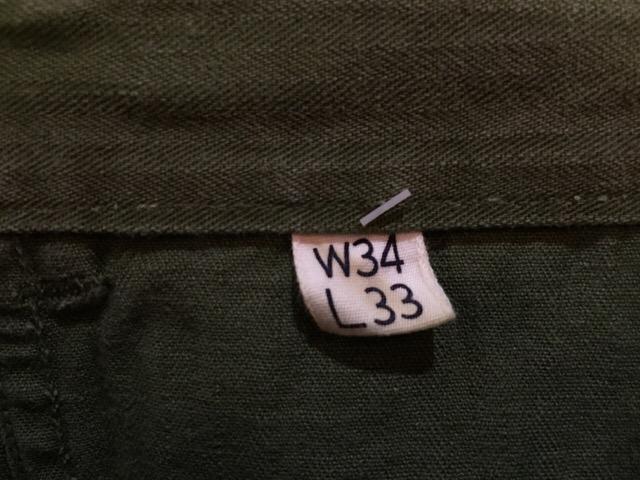 4月13日(水)大阪店ヴィンテージ入荷!#7 U.S.ARMY編!M-43,M-47HBT&ダブルステッチチノ!!_c0078587_3514798.jpg