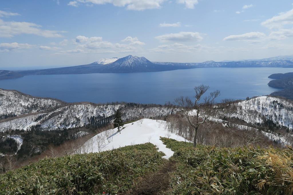 イチャンコッペ山と幌平山、4月12日_f0138096_17265333.jpg