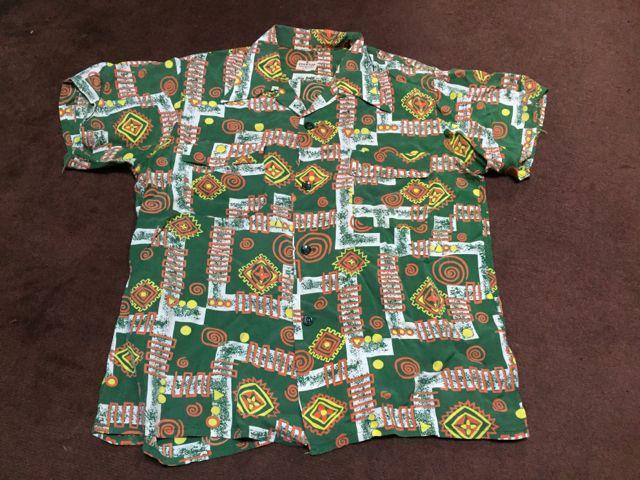 50s Rayon ハワイアン シャツ!!_c0144020_8525080.jpg