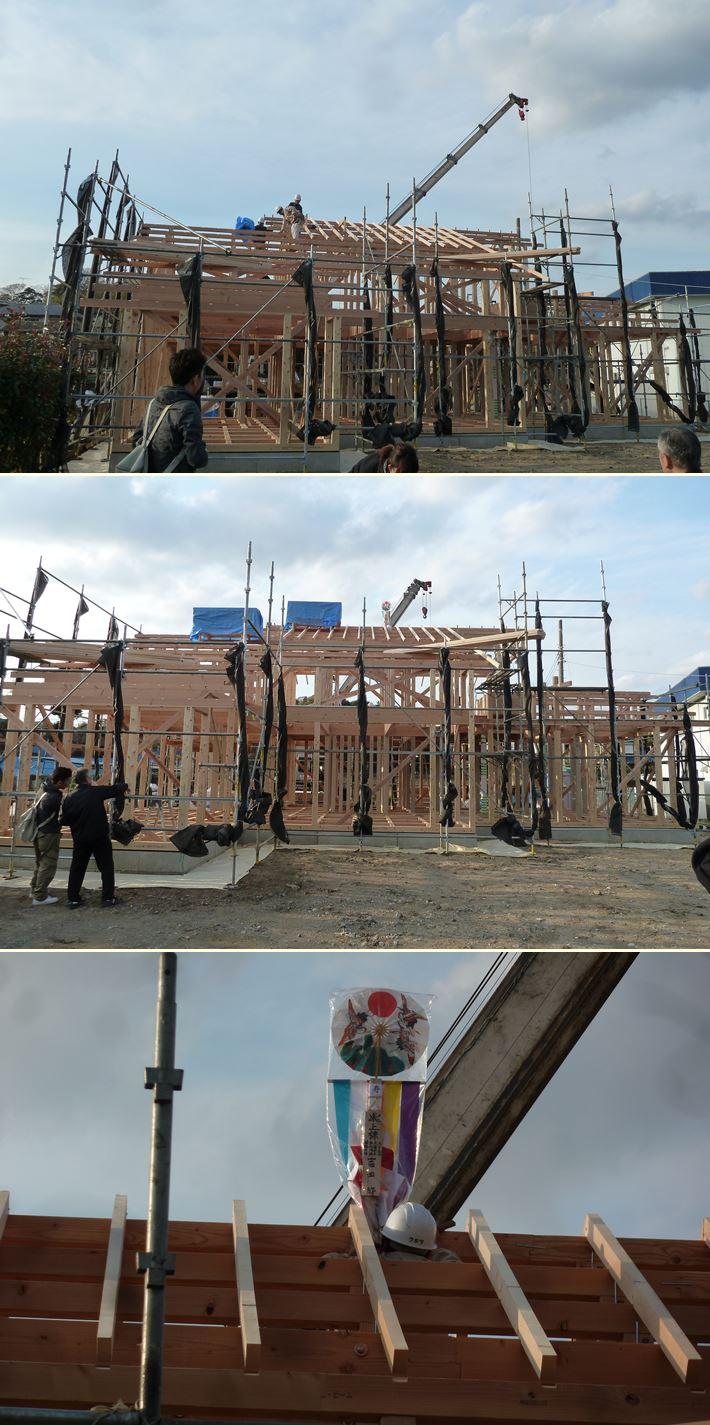 横浜市旭区の家☆上棟しました!_c0152341_15461610.jpg