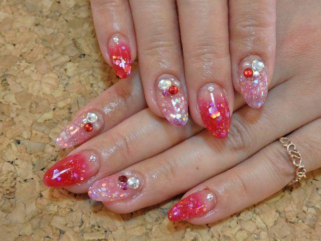 Pink Nail_a0239065_12550240.jpg