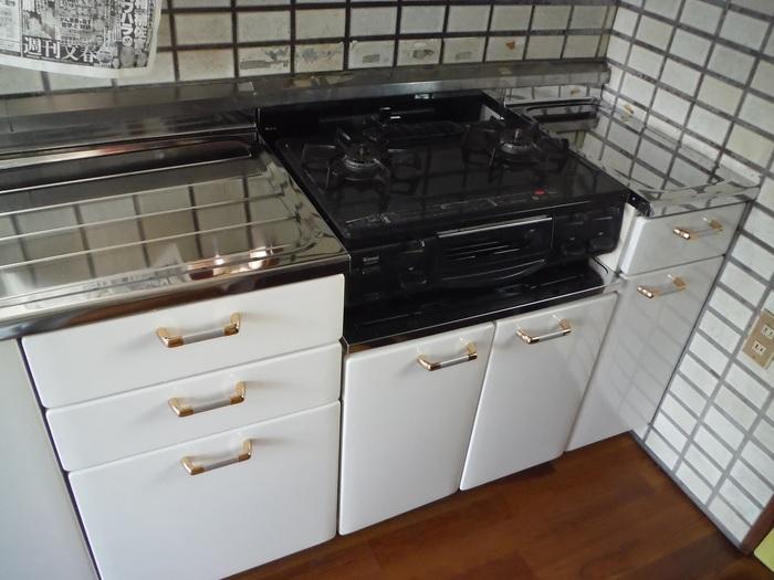 キッチンと廊下 ~ キッチン取替終了です。_d0165368_55554100.jpg