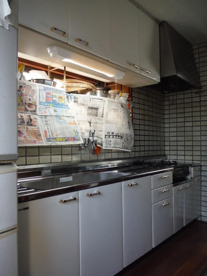 キッチンと廊下 ~ キッチン取替終了です。_d0165368_5561150.jpg