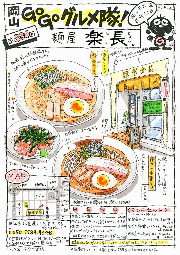 麺屋・楽長(がくちょう)_d0118987_12351232.jpg