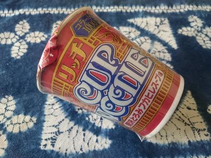 日清 カップヌードルリッチ 贅沢とろみフカヒレスープ味 ¥247_b0042308_16241268.jpg