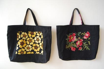 刺繍bagを作りました!_d0127925_1471562.jpg