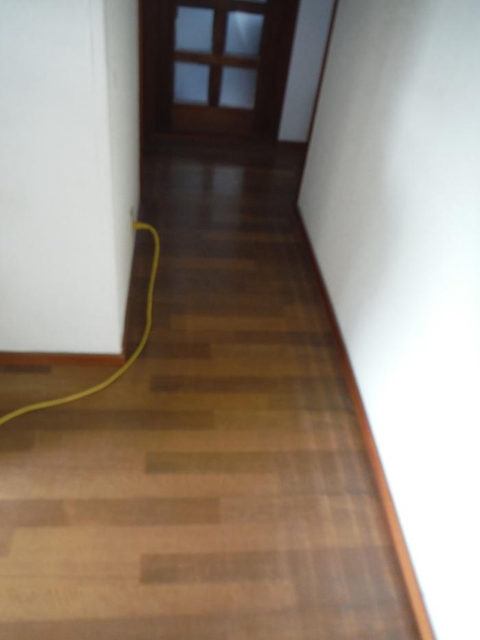 キッチンと廊下 ~ 廊下の傷み。_d0165368_522116.jpg