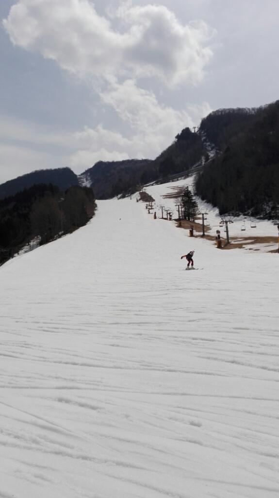 春スキー2日目_e0356469_14204330.jpg