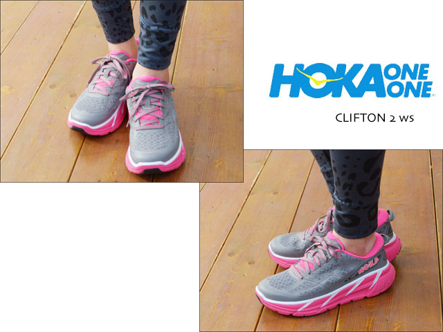 HOKA ONE ONE [ホカオネオネ] CLIFTON 2 ws [1008329]  LADY\'S_f0051306_18430937.jpg