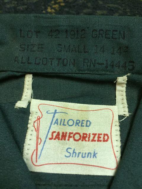 アメリカ仕入れ情報 #32 デッドストック大量発掘! ④ 60s半袖デッドストックシャツ!_c0144020_12171526.jpg