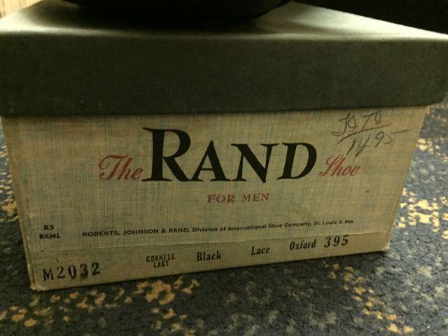 アメリカ仕入れ情報 #37 デッドストック大量発掘! ⑨ 50-60s RAND SHOES!_c0144020_22274592.jpg