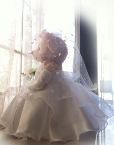 ダッフィーのウエディングドレス作り方メモ_c0036138_20275978.jpg
