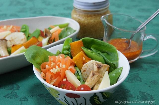 体にいい生姜酢とエゴマ油のピリ辛「韓国風ドレッシング」でカラフル野菜をもりもり!【レシピ付き】