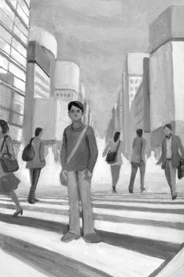 小説現代「花や今宵の」第7回扉絵と文中挿絵_b0194880_384985.jpg