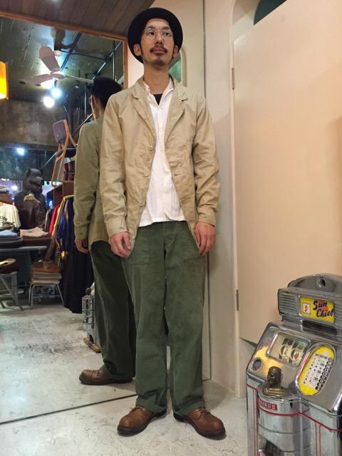 このシルエットで、この生地感は必見です!!(大阪アメ村店)_c0078587_0335920.jpg
