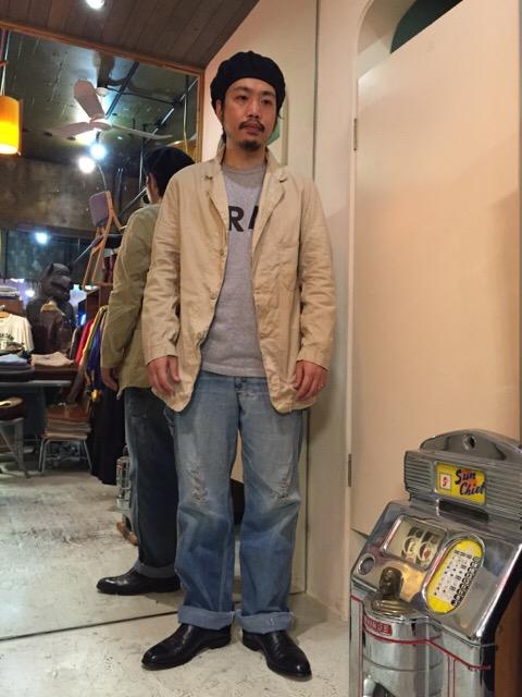 このシルエットで、この生地感は必見です!!(大阪アメ村店)_c0078587_034621.jpg