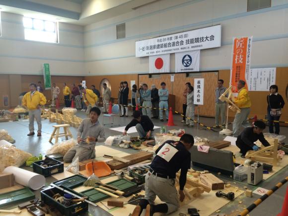 第45回新潟県建築組合連合会  技能競技大会_c0170940_17590243.jpg