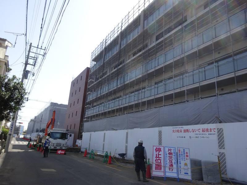 NTT花小金井西社宅跡のマンション開発_f0059673_23294553.jpg