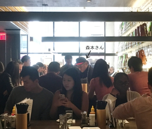 NYに「和の鉄人」森本正治さんのラーメン店、Momosan Ramen & Sake(ももさんラーメン)オープン!!!_b0007805_21364836.jpg