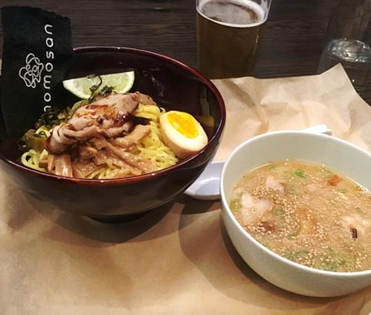 NYに「和の鉄人」森本正治さんのラーメン店、Momosan Ramen & Sake(ももさんラーメン)オープン!!!_b0007805_21372880.jpg